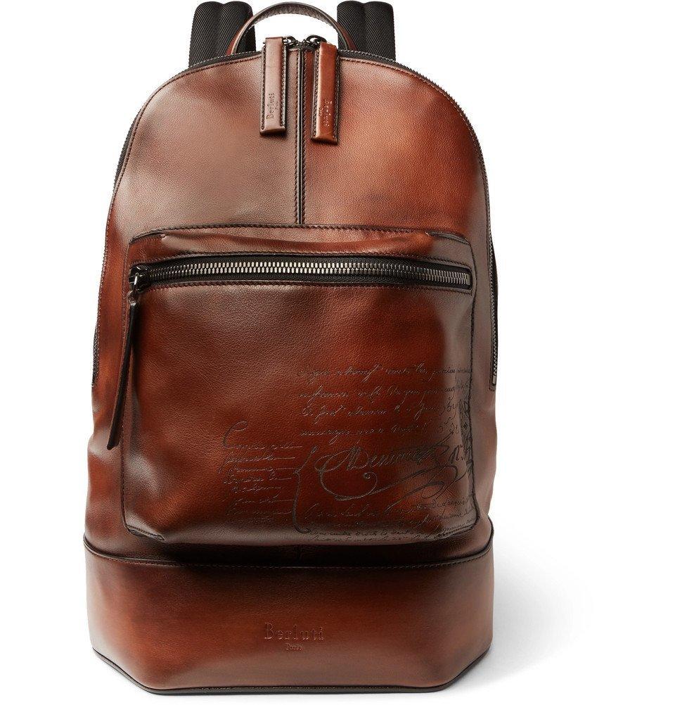 Photo: Berluti - Volume Small Leather Backpack - Men - Tan