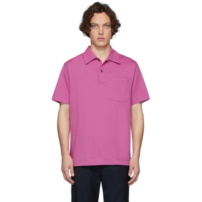 Photo: Dries Van Noten Pink Hadler Polo