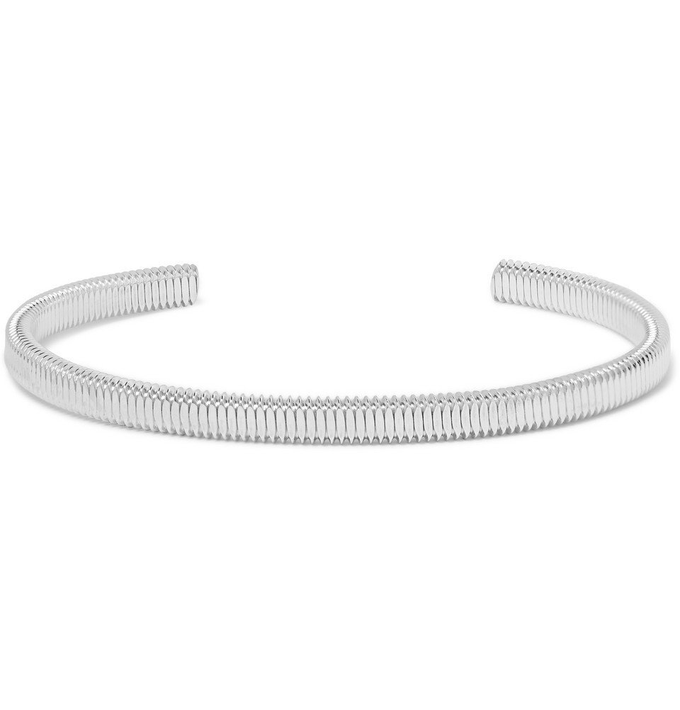 Photo: Miansai - Thread Sterling Silver Cuff - Silver
