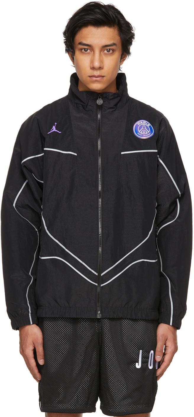 Photo: Nike Jordan Black Paris Saint-Germain Edition Anthem Jacket