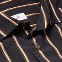 Dunhill - Striped Jacquard Shirt - Men - Midnight blue