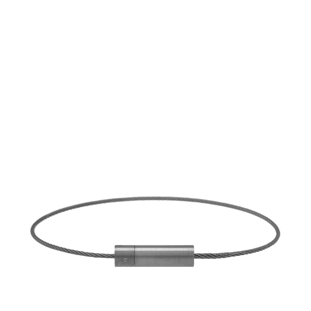 Photo: Le Gramme Brushed Le Cable Bracelet