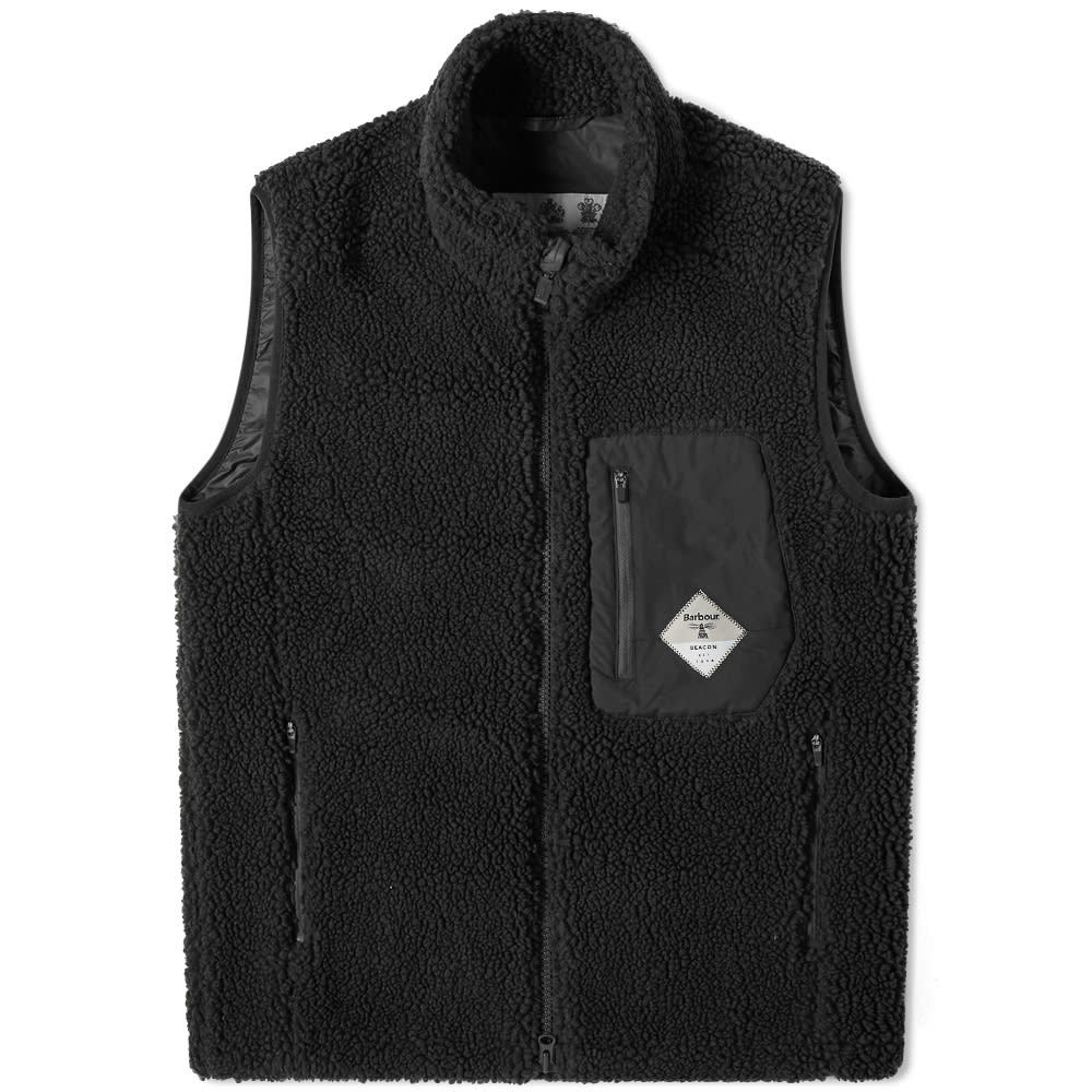barbour fleece gilet