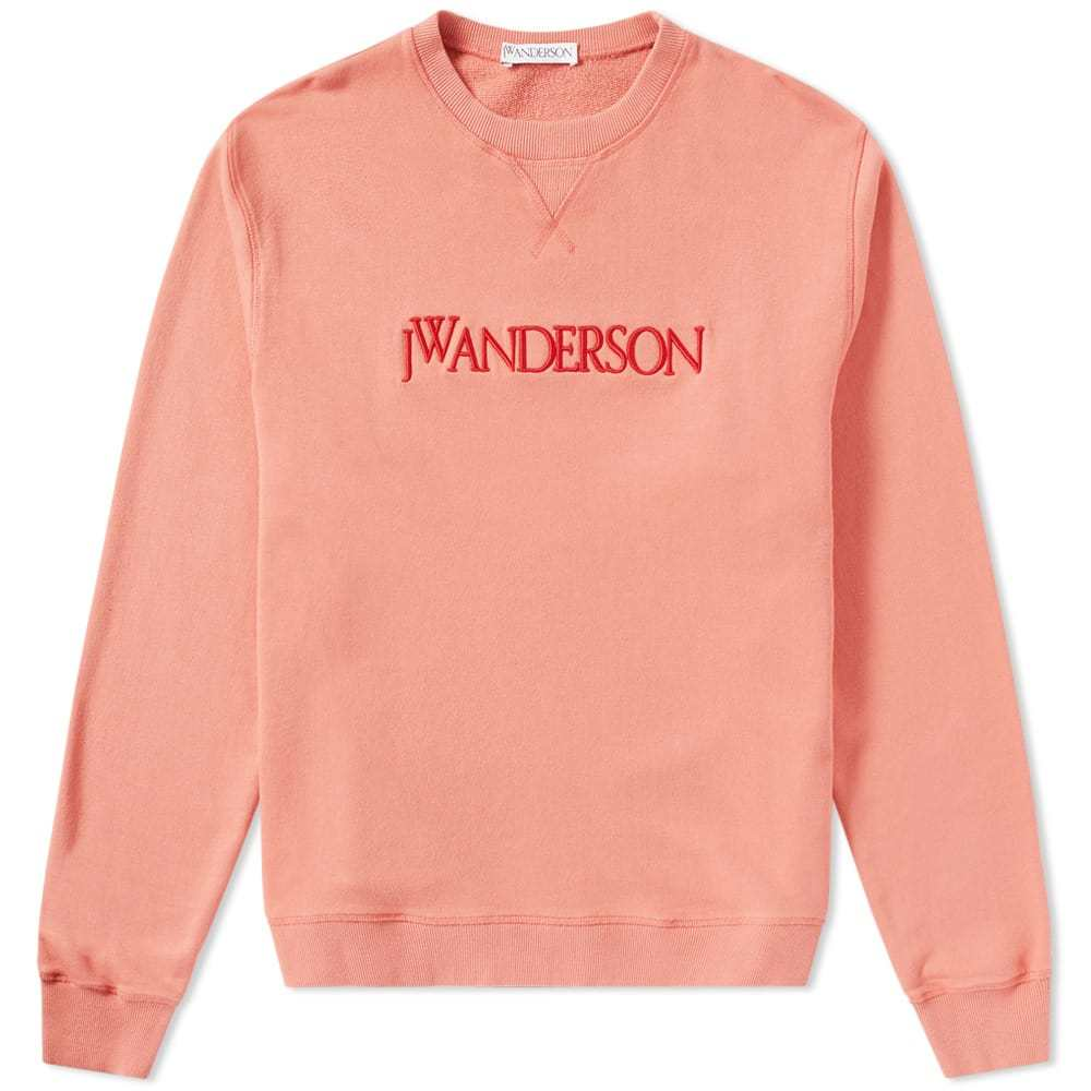 Photo: JW Anderson Logo Crew Sweat Pink