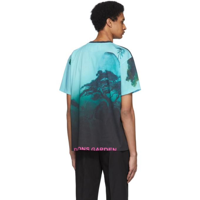 Valentino Multicolor Dragon Garden T-Shirt