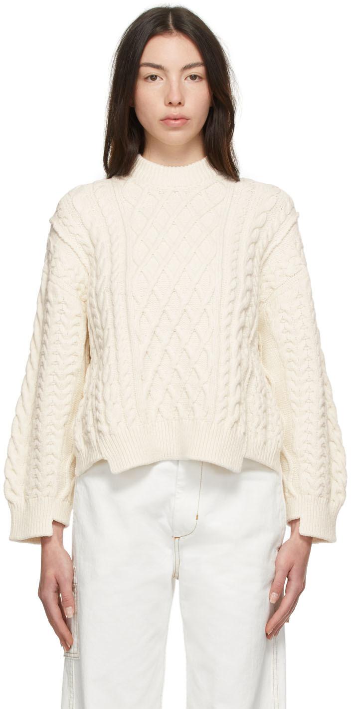 Photo: Stella McCartney Off-White Aran Stitch Sweater