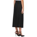 Nina Ricci Black Wool Trouser Skirt
