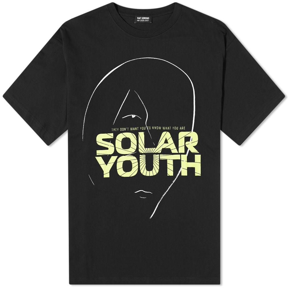 Raf Simons Big Fit Solar Youth Tee