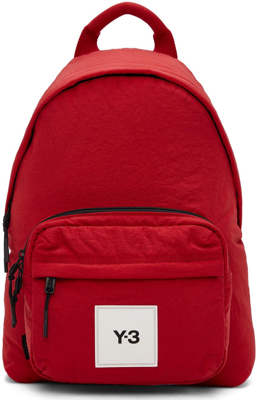 Photo: Y-3 Red Techlite Tweak Backpack