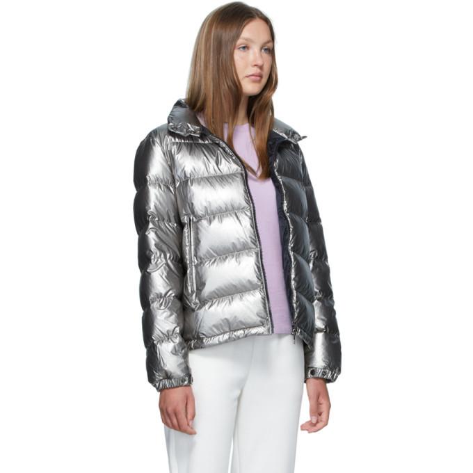 Moncler Silver Gris Jacket