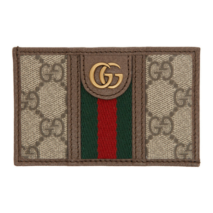 Photo: Gucci Beige GG Ophidia Card Holder