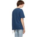 Ksubi Blue Cross Logo Biggie T-Shirt
