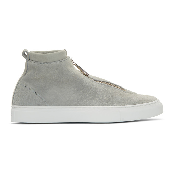 Photo: Diemme Grey Suede Fontesi Sneakers