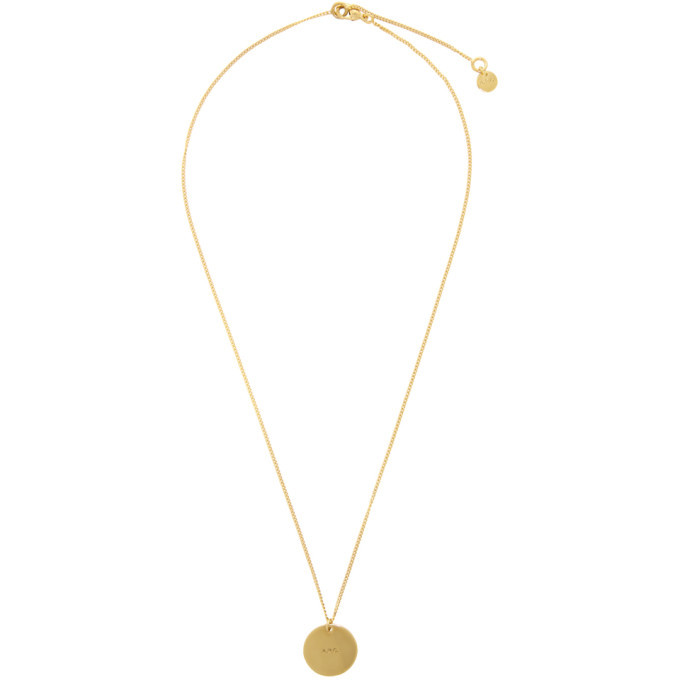 Photo: A.P.C. Gold Eloi Necklace