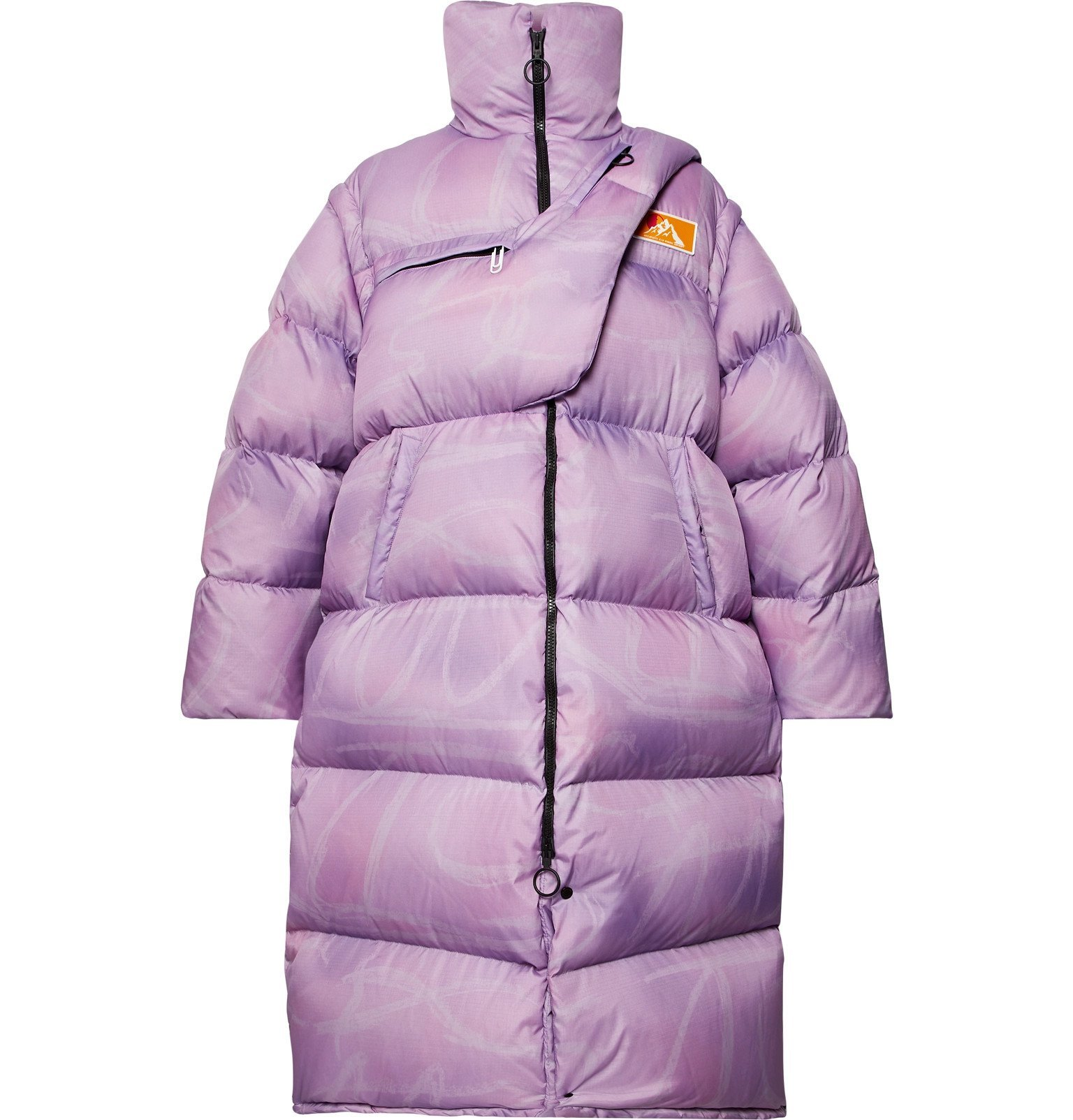 Photo: Off-White - Oversized Quilted Nylon-Ripstop Down Jacket - Purple
