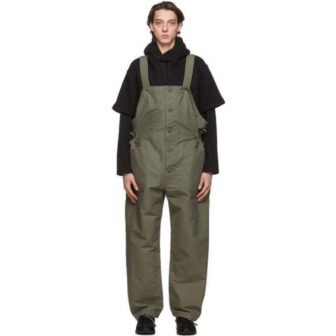 Photo: Engineered Garments Green Wader Overalls