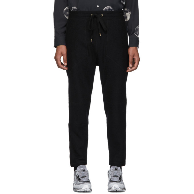 Photo: Robert Geller Black New Richard Lounge Pants
