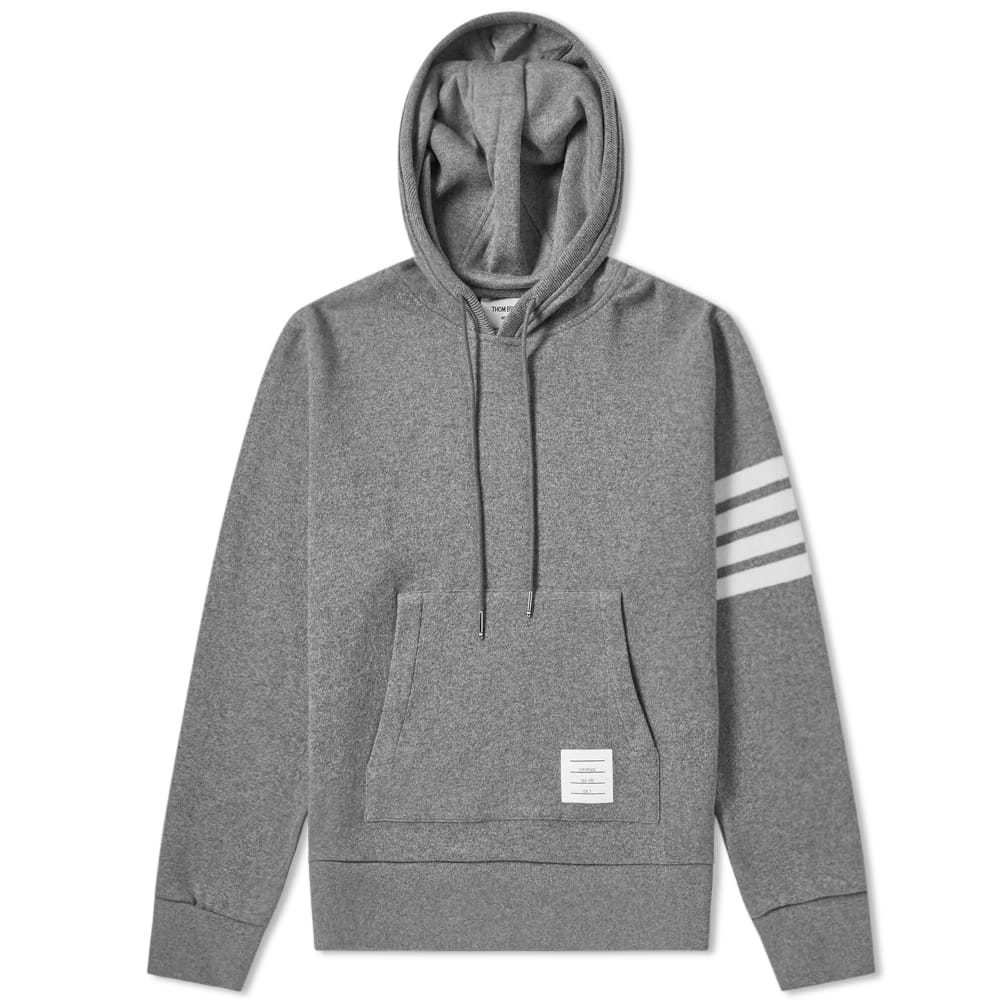 Photo: Thom Browne Shell Back Cashmere Pullover Hoody