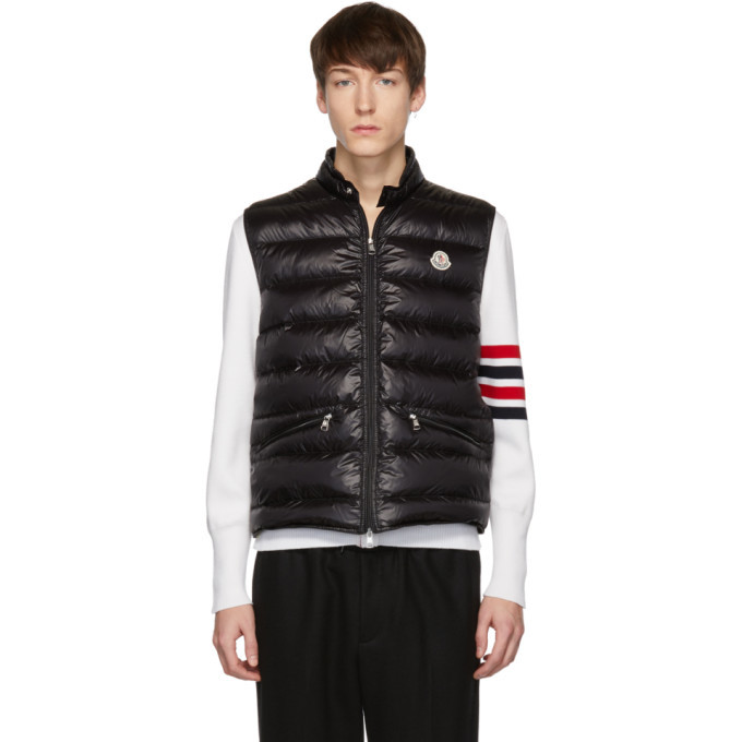 Photo: Moncler Black Down Gui Vest