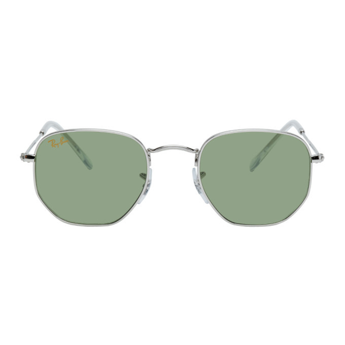 Photo: Ray-Ban Silver Hexagonal Icons Sunglasses