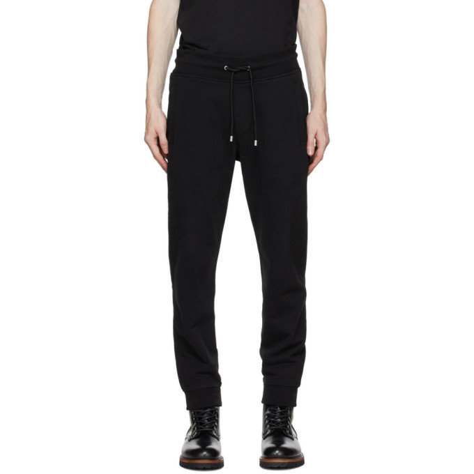Photo: Belstaff Black Logo Lounge Pants