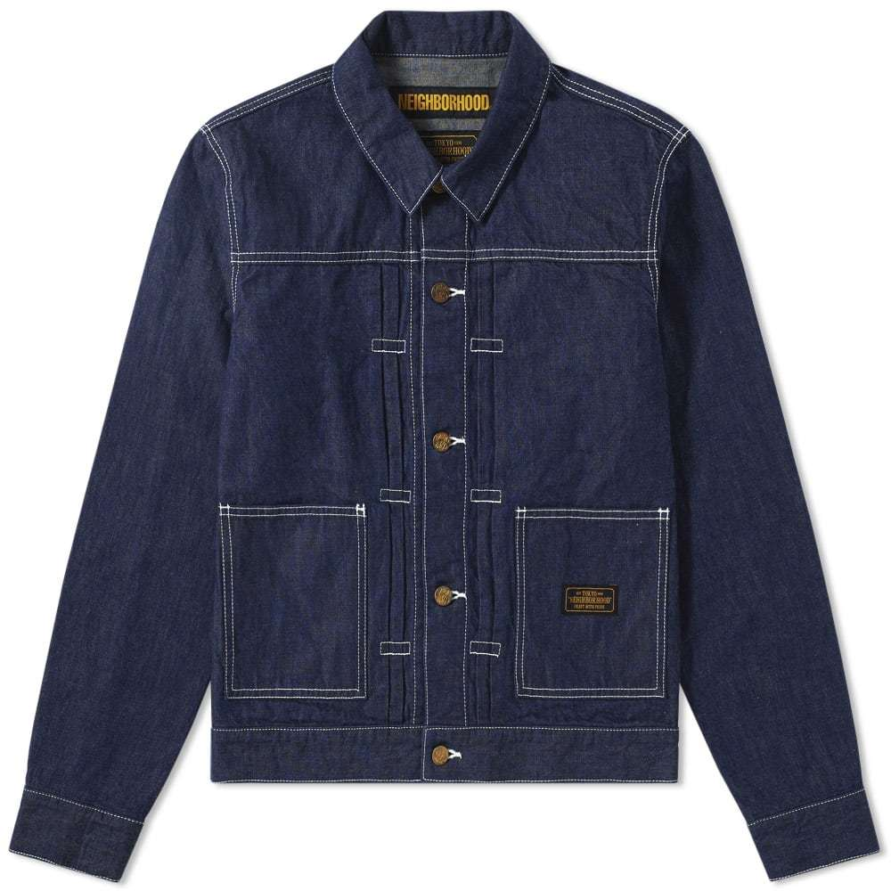 Photo: Neighborhood Stockman Jacket Blue