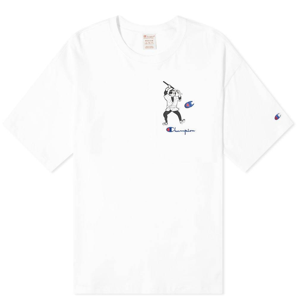 Photo: Champion Reverse Weave Smaurai Character Tee