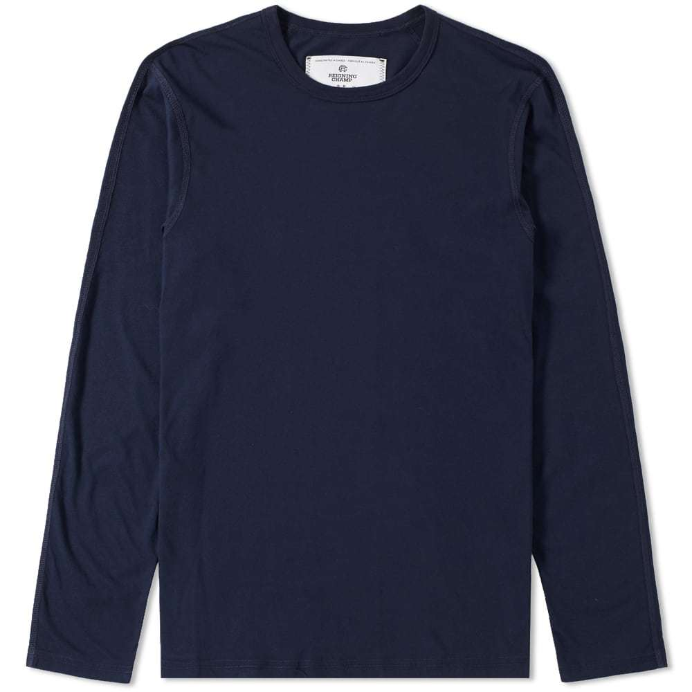 Photo: Reigning Champ Long Sleeve Jersey Tee