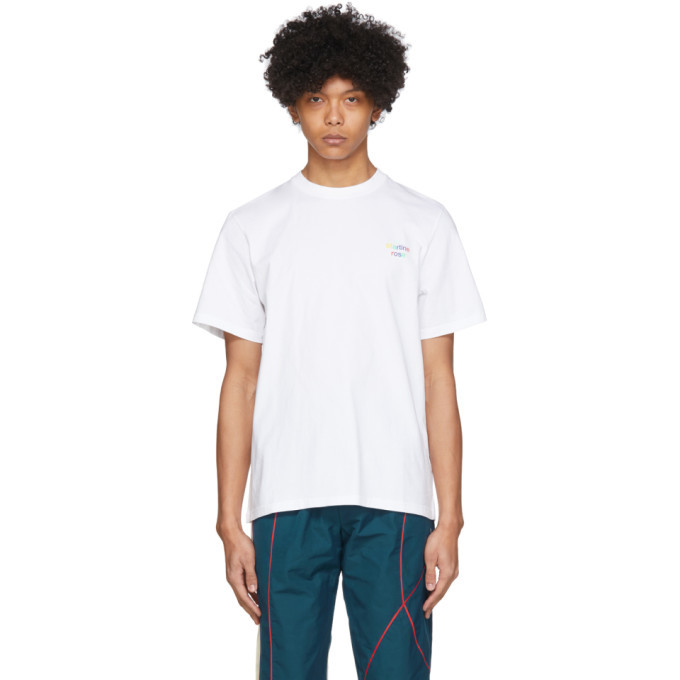 Photo: Martine Rose SSENSE Exclusive White The Intelligent Choice T-Shirt