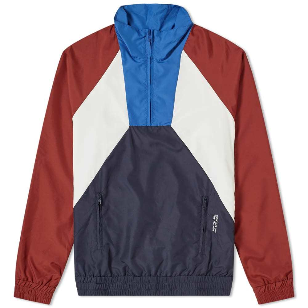 Photo: Wood Wood Gaspar 1/4 Zip Track Jacket