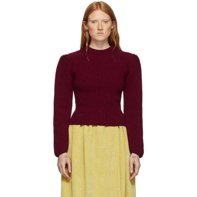 Photo: Lemaire Red Puffy Sleeves Sweater
