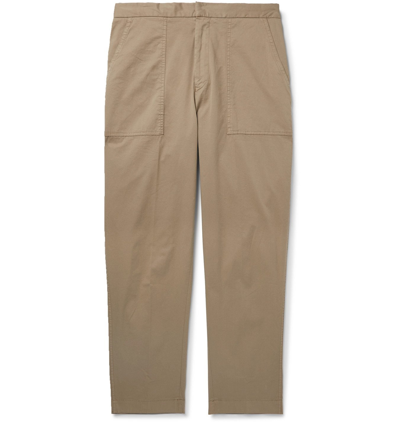Photo: Officine Generale - Paolo Stretch-Cotton Cargo Trousers - Neutrals