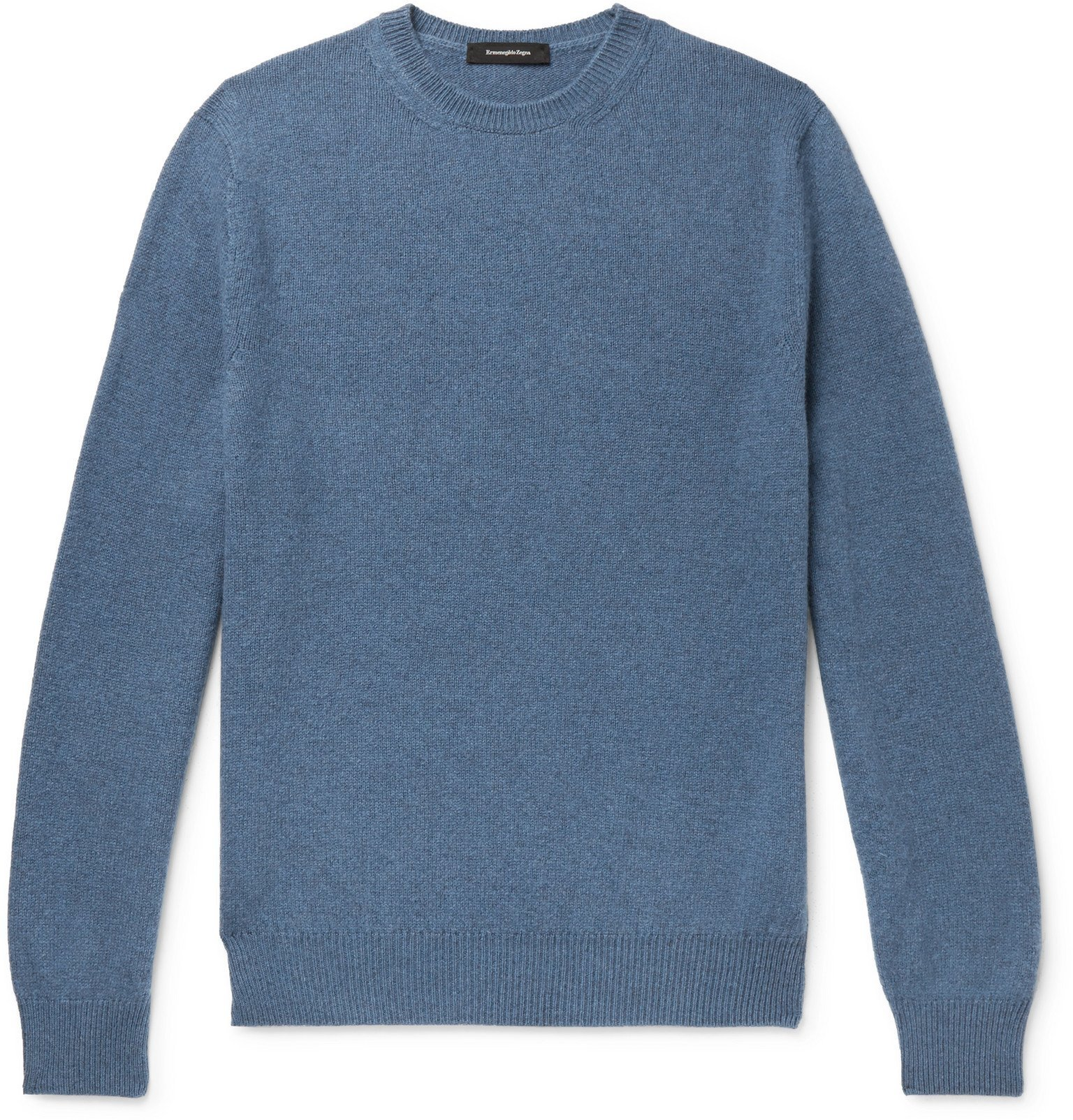 Photo: Ermenegildo Zegna - Yak Sweater - Blue