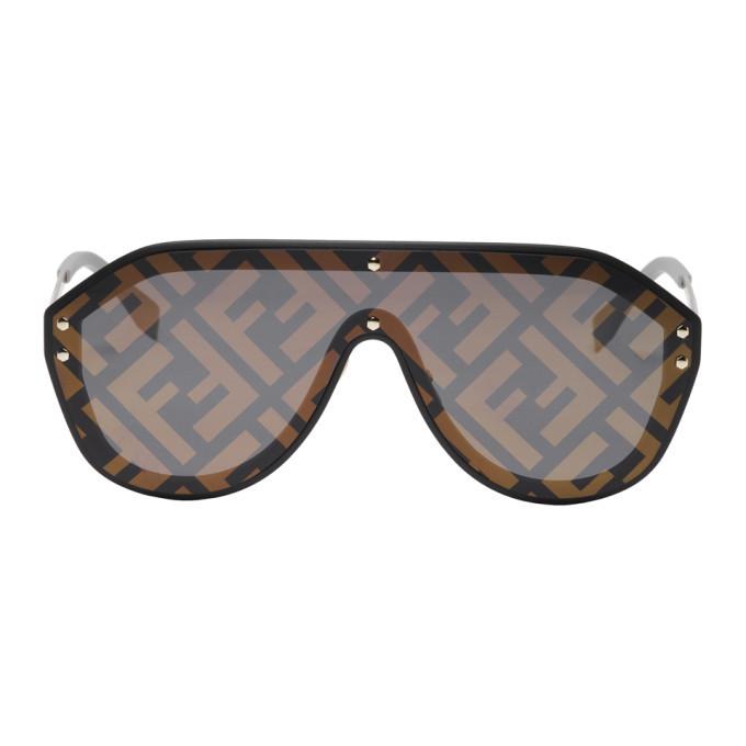 Photo: Fendi Black and Gold Forever Fendi M0039/G/S Sunglasses