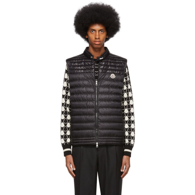 Photo: Moncler Black Down Gir Vest