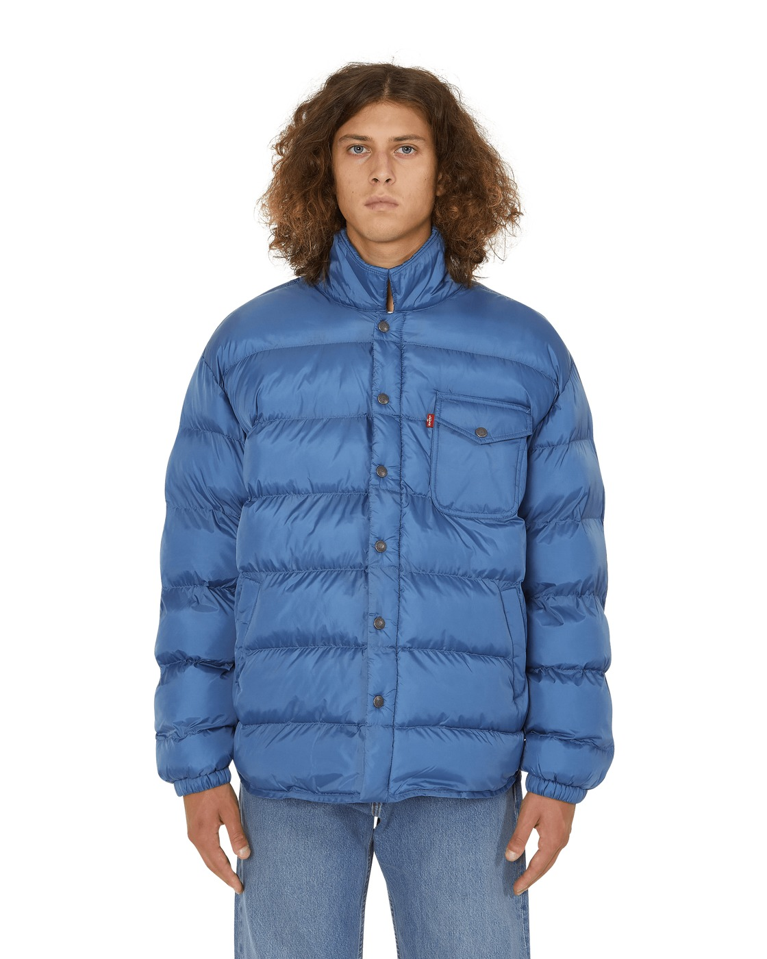 Photo: Levi's Skateboard Mason Down Jacket Dutch Blue