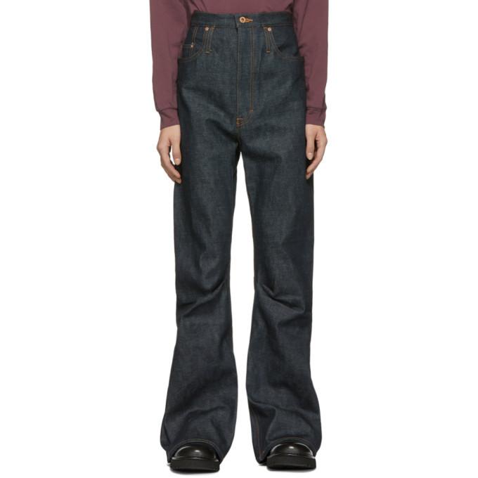 Photo: Kozaburo Indigo Selvedge 3D Bootcut Jeans