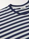 SCHIESSER - George Striped Cotton-Jersey T-Shirt - Blue