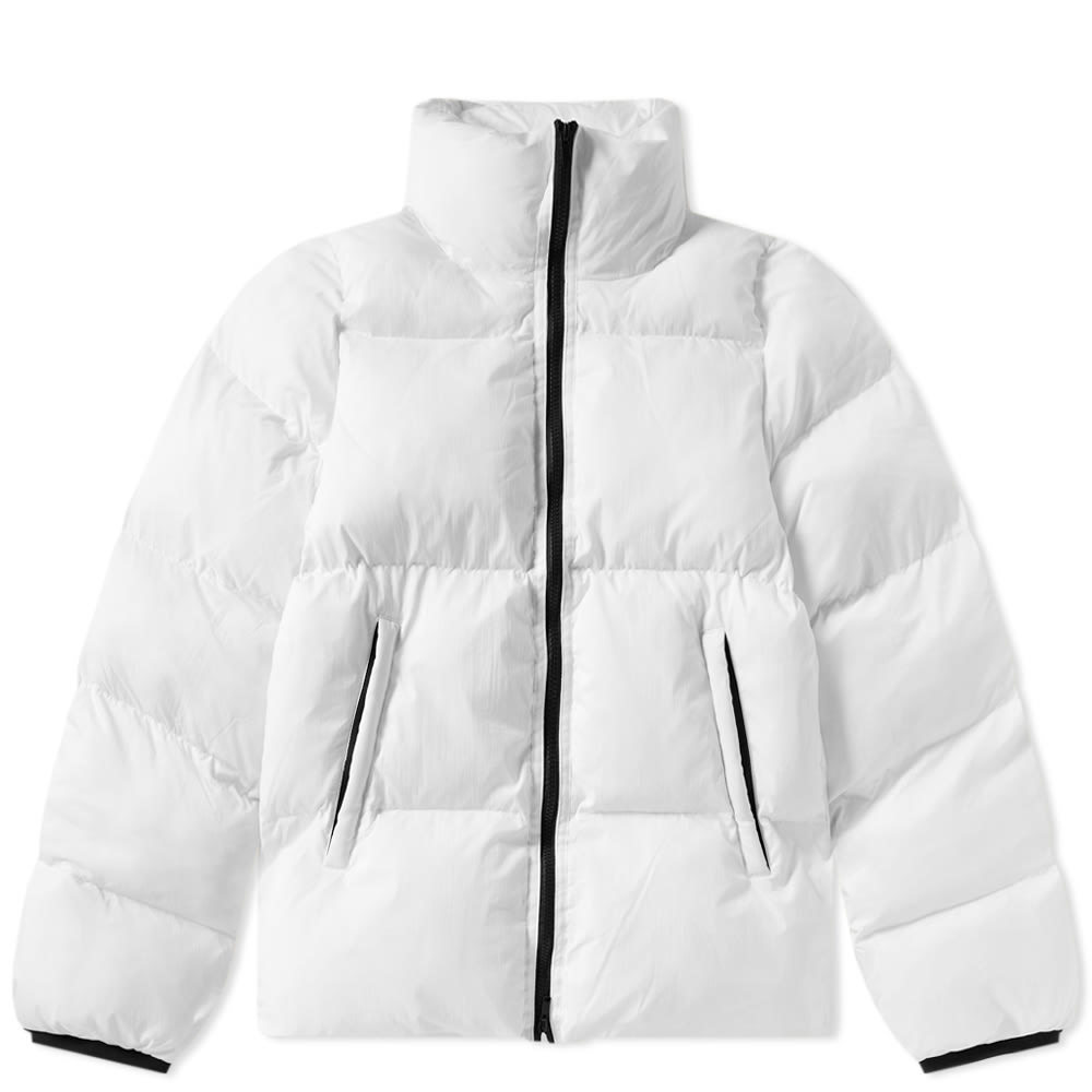 Photo: MKI Nylon Short Bubble Jacket White