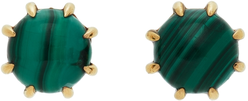 Photo: Sacai Gold Safety Pin Hoop Earrings