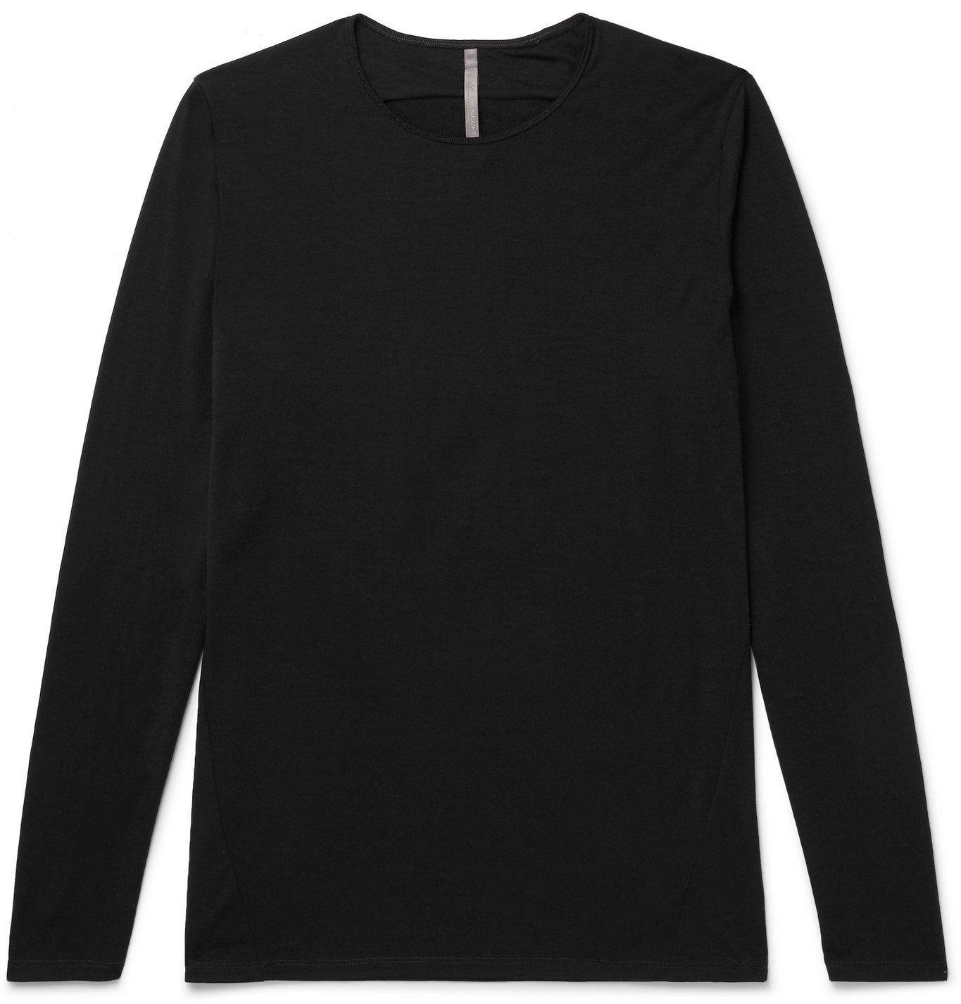 Photo: Veilance - Frame Wool-Blend T-Shirt - Black