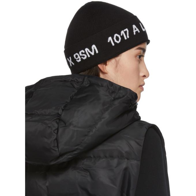 1017 ALYX 9SM Black Logo Beanie