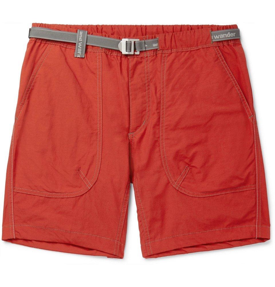 Photo: And Wander - Nylon Shorts - Orange