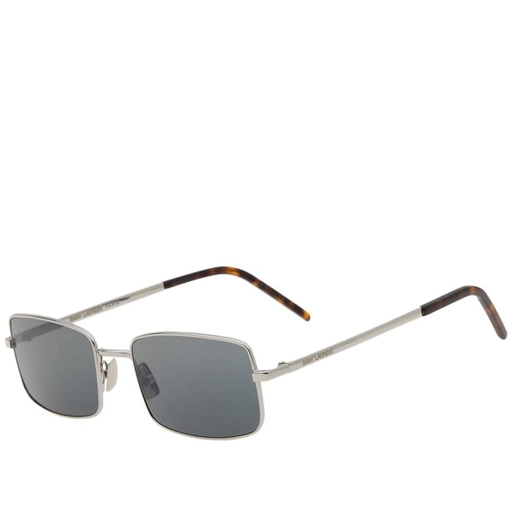 Photo: Saint Laurent SL 252 Sunglasses Silver & Grey