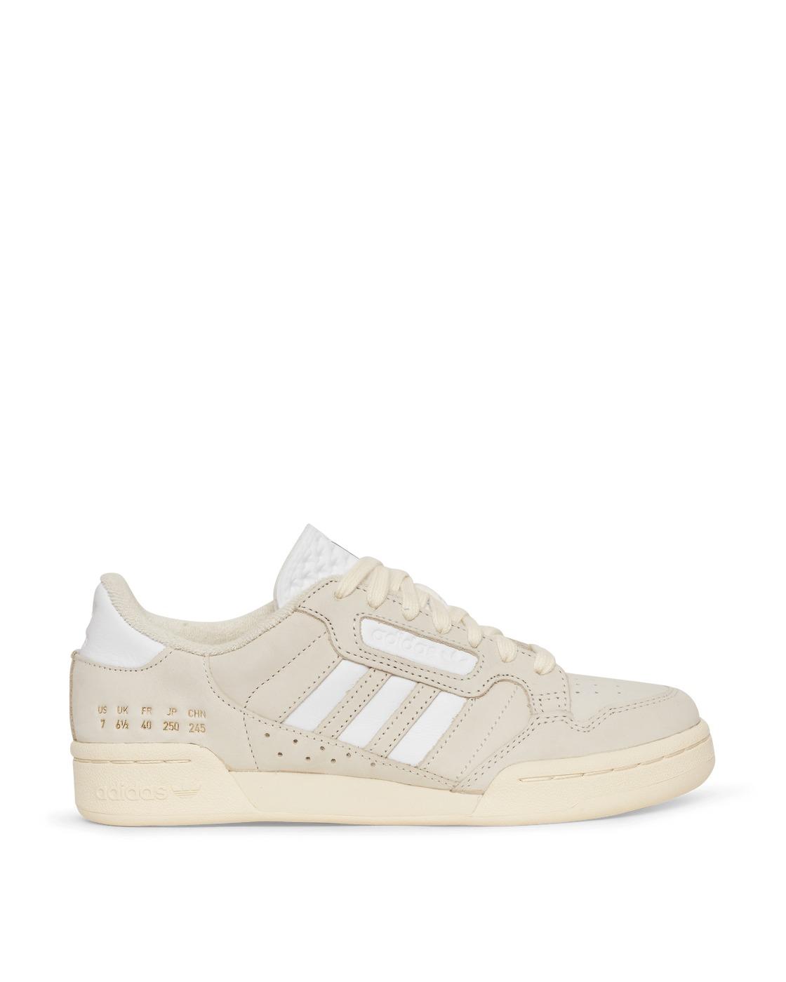 Photo: Adidas Originals Continental 80 Stripes Sneakers Cream White