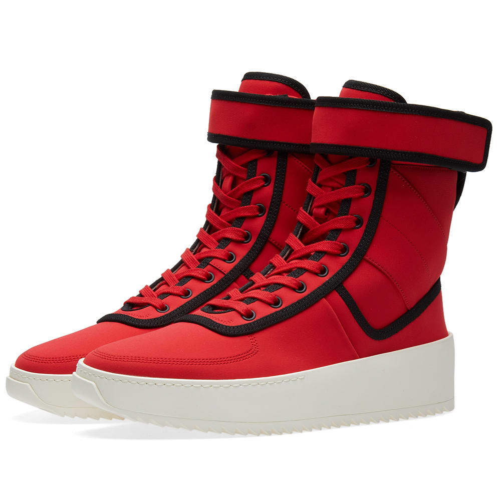 Photo: Fear Of God Military Sneaker Red