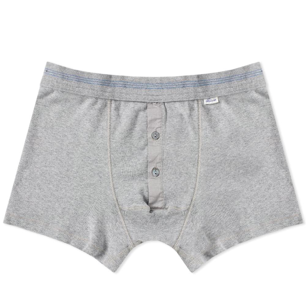 Schiesser Karl-Heinz Boxer Short Grey