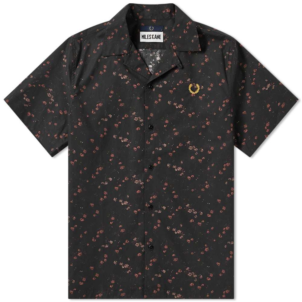 Photo: Fred Perry x Miles Kane Liberty Bowling Shirt