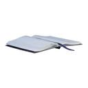 Smythson Navy Croc Mara Soho Notebook