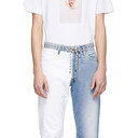 Aries Blue and White Pascal Lilly Jeans